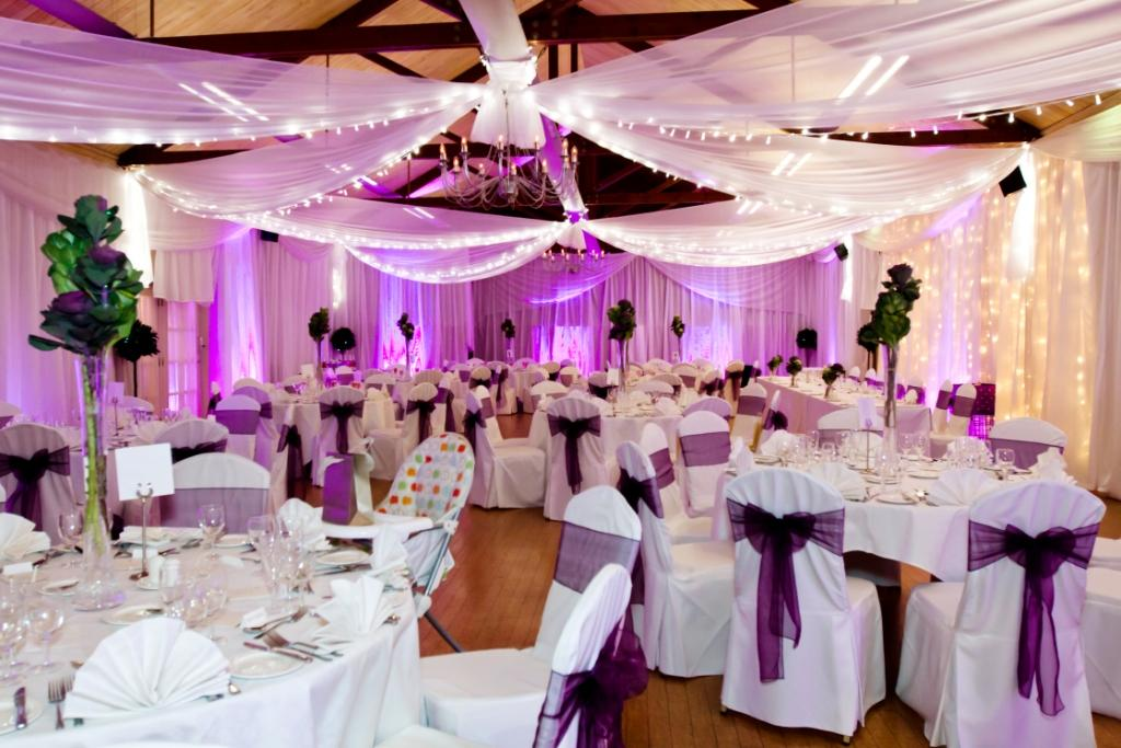 Brooksby-Full-venue-drape-with-fairy-light-curtain