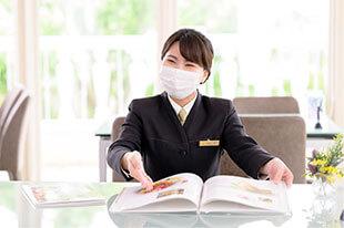 全従業員のマスク着用