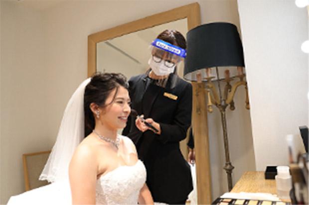ブライズルーム・挙式会場でのマスク等着用について